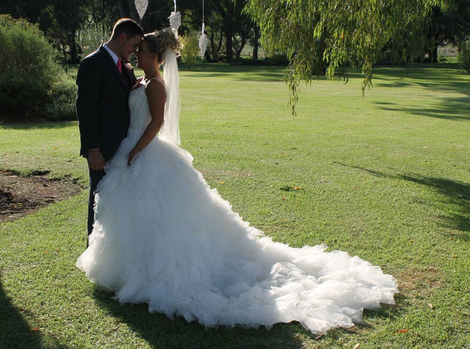 Newlyweds Mr and Mrs Tangye
