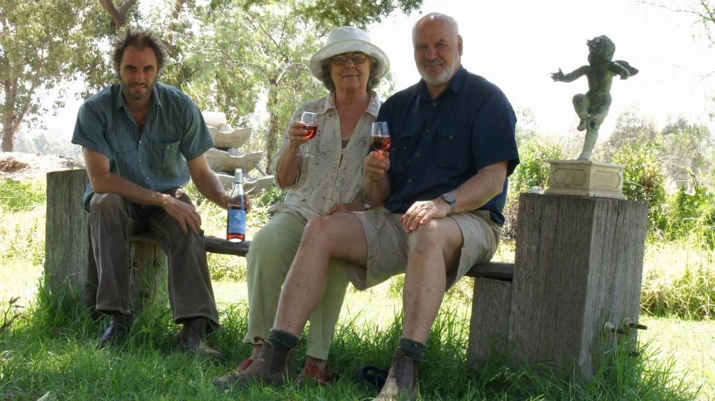 Sam, Florence and Richard Statham
