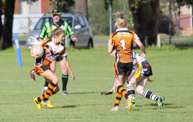 Canowindra Tigeress on Saturday