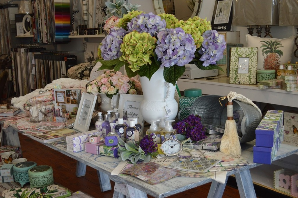 Giftwares available in-store at Kim Lowe Interiors