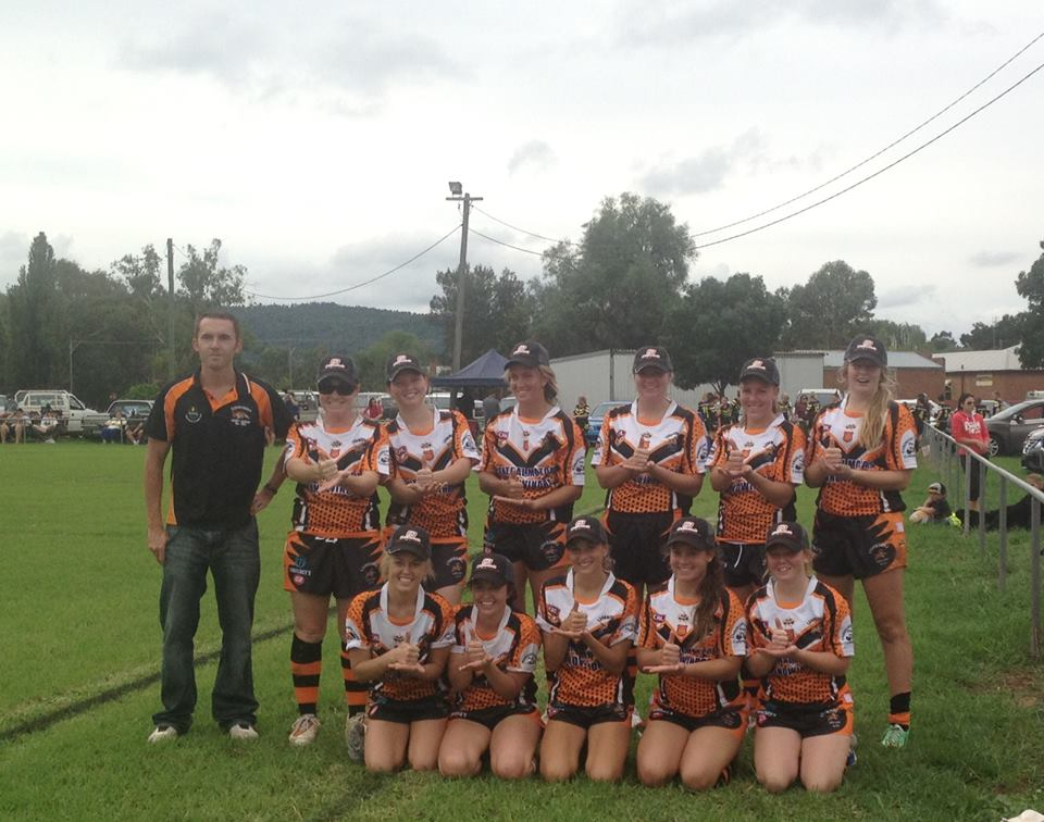The Canowindra Tigeresses
