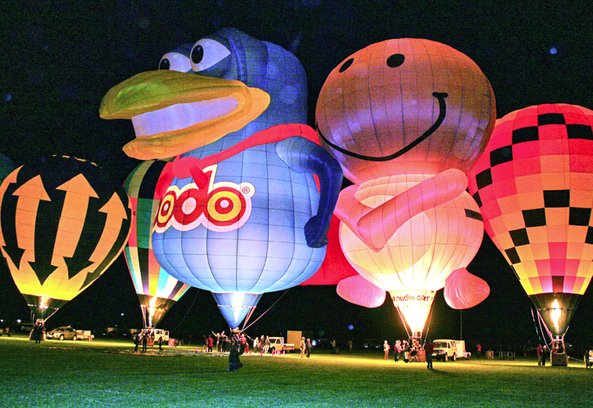 "Saturday's Balloon Glow – dramatic climax of a ""brilliant"" week"