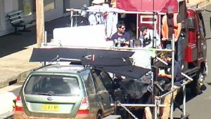 Movie set on wheels – the technical paraphernalia of Strangerland's moving car sequence in Gaskill Street