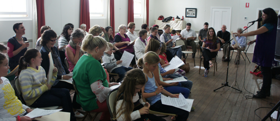 Sing Canowindra's Choral Workshop Choir