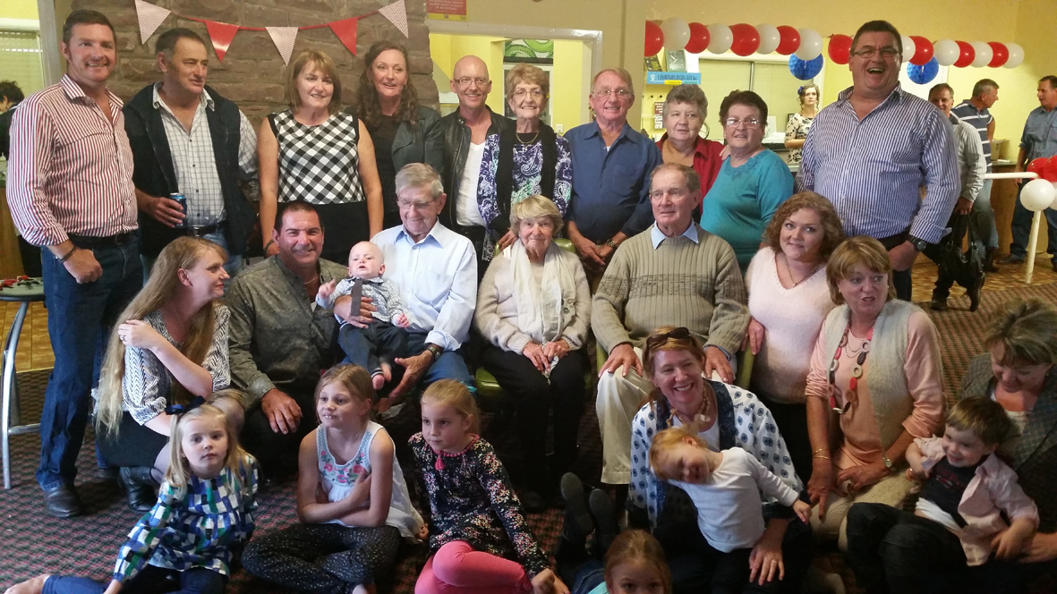 Starr family members travelled from near and far to help Tommy celebrate his 80th birthday