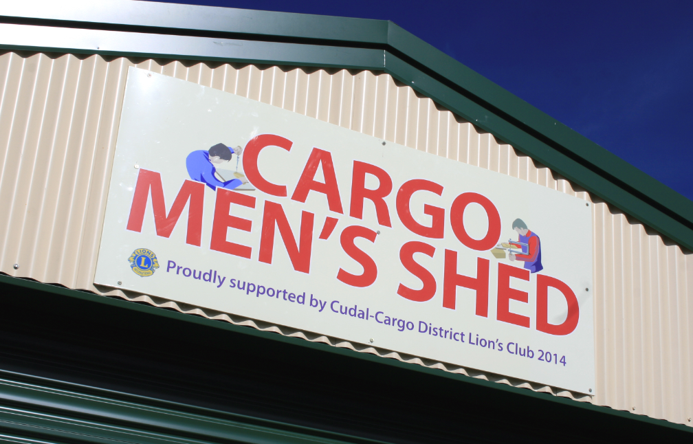 Cargo's Mens Shed