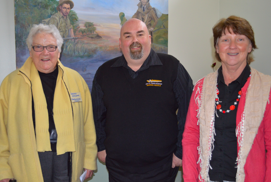 Dorothy Balcomb, Warren Keedle (Age of Fishes), Anne Vincent represented the Canowindra Museum Precinct at the Museums and Societies networking meeting.