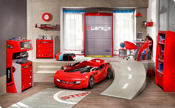 kids-bedroom-furniture-for-boy-with-racing-car-theme