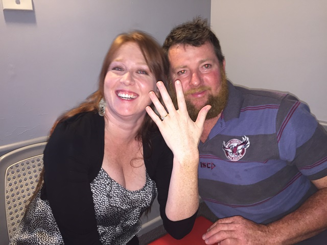 Wishing Troy McClintock and Mel Maloney all the best on their recent engagement