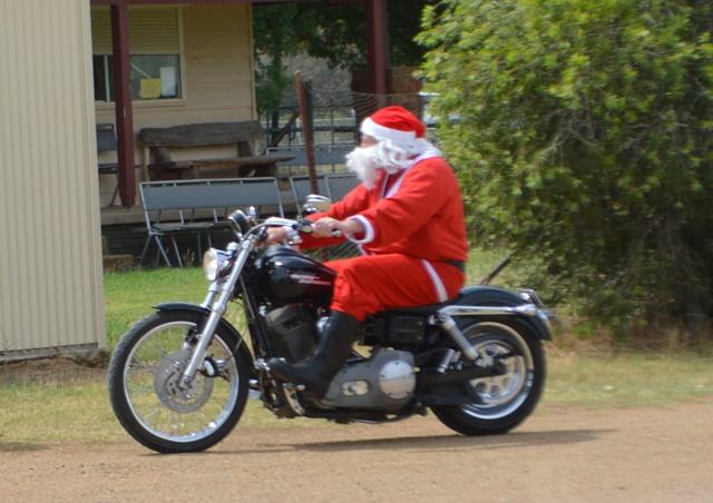 the coolest santa ever