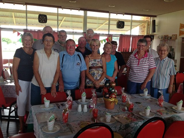 Volunteers from the 2013 luncheon