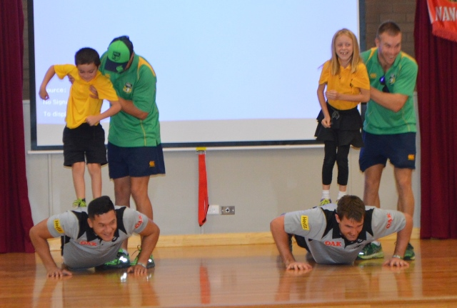 Canowindra Public School Students Put Panthers Through Their Paces