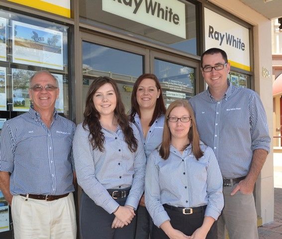the ray white rural team
