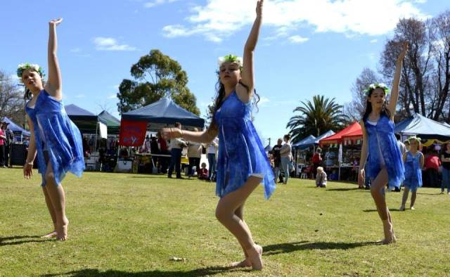 August Harvest In The Park; photo courtesy of Cowra Tourism