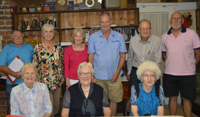 Members of the Historical Society at their AGM on Tuesday