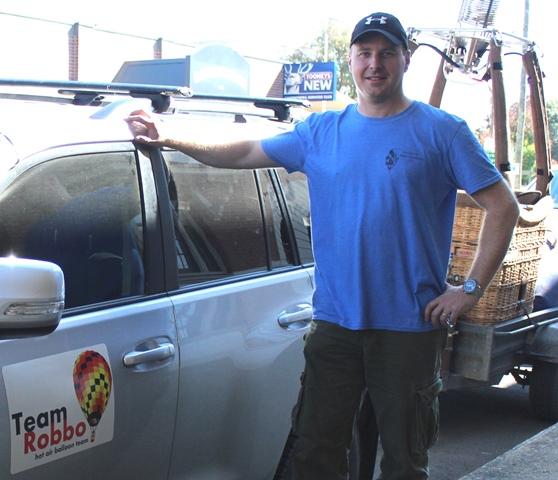 Andrew Robertson of Team Robbo