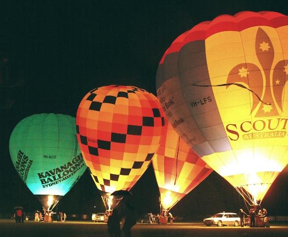 Photo Balloon Glow