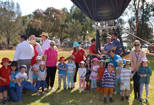 the preschool kids loved the balloon!