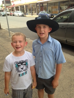 Alex and Lachlan Rice