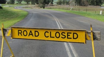 Roads Close And Bridge Gets Repaired As Canowindra Receives Another Drenching