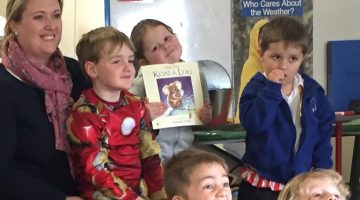 Preschoolers Dress Up For Book Week