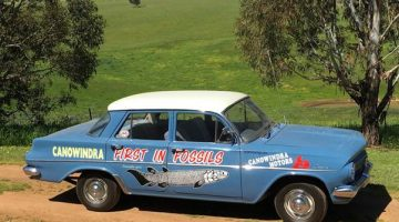 Iconic Fish Fossil Car Remains In Canowindra