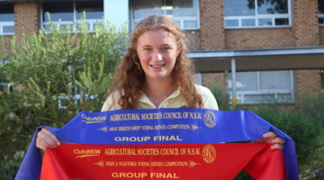 Local Girl To Compete At Royal Easter Show
