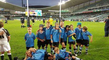 Junior Pythons Play at Allianz Stadium