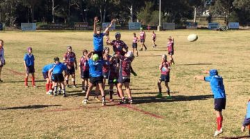 CANOWINDRA AND COWRA UNDER 13'S RUGBY