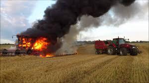 Tips To Avoid Harvester Fires