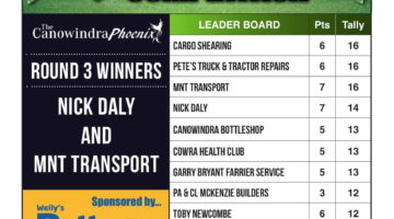 Footy Tipping Results – Round 3