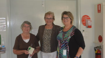 Garden Club Helps To Deliver New Patient Lounge