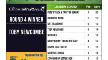 Footy Tipping Results – Round 4