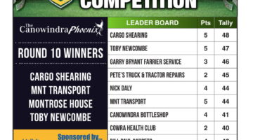 Footy Tipping Results – Round 10