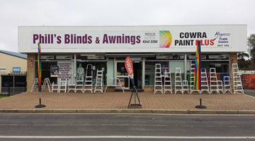 Blinds, Awnings, Paint And More At Phill's!
