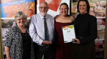 Canowindra Shines At Regional Tourism Awards